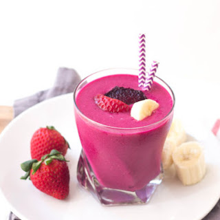Strawberry-Banana Beet Smoothie