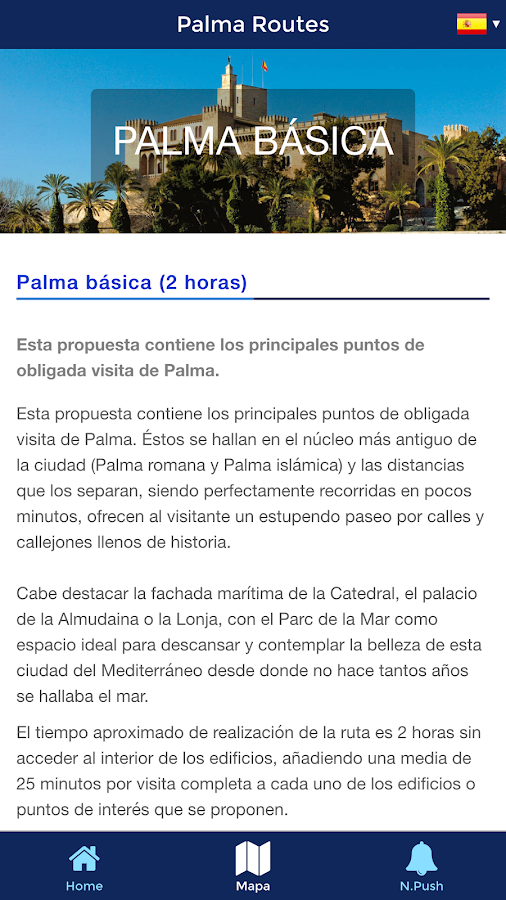 Palma Routes- screenshot