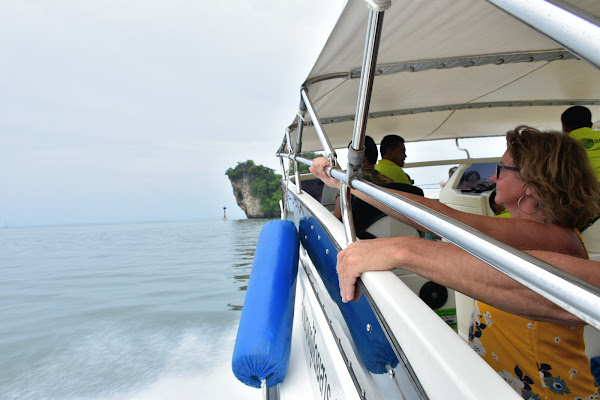 Travel from Ao Nang to Koh Yao Yai by speed boat