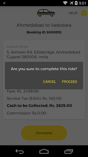 OneWay.Cab Partner 2.10.4 screenshots 6