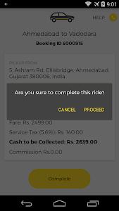 OneWay.Cab Partner screenshot 5