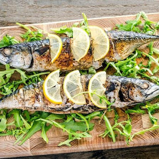 Mackerel, Baked In The Oven