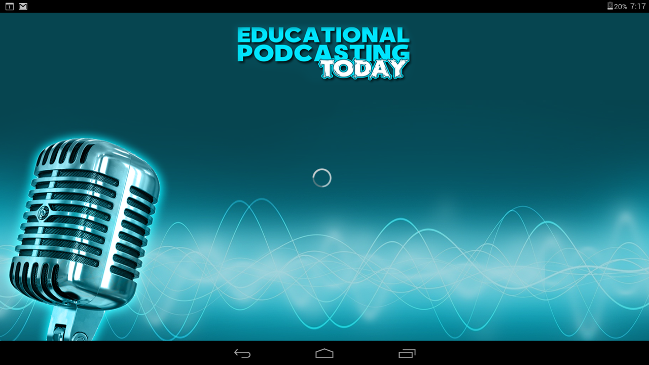 Edu Podcasting Today- screenshot