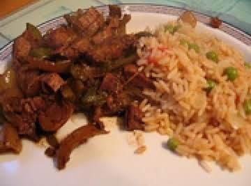 Crockpot Beef Fajitas