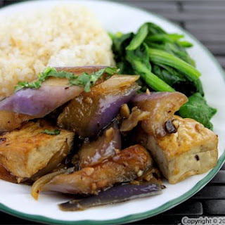 Tofu Zucchini Eggplant Recipes