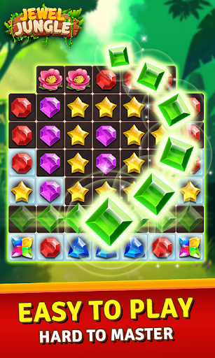 Jewels Jungle Treasure : Match 3  Puzzle  screenshots 2