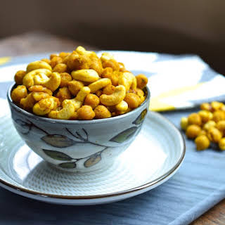 Roasted Curry Chickpeas.