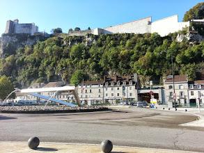 Photo: La citadelle de Besançon, vue de l'Ouest