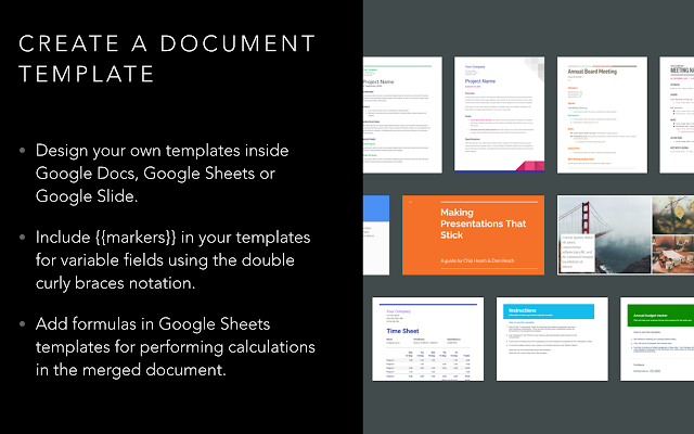 Document Studio G Suite Marketplace