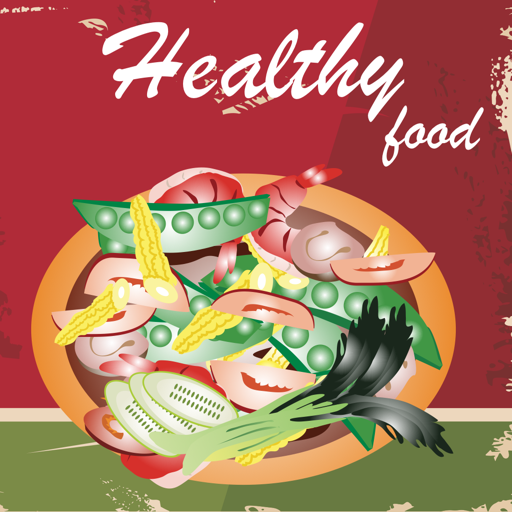 健康の健康食品 クックブック。クイックとベストレシピ&料理を調理簡 LOGO-記事Game