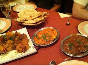 Photo: Food at Haveli indian restaurant.