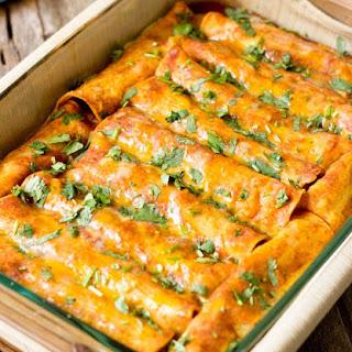 Black Bean Vegan Enchiladas #Recipe