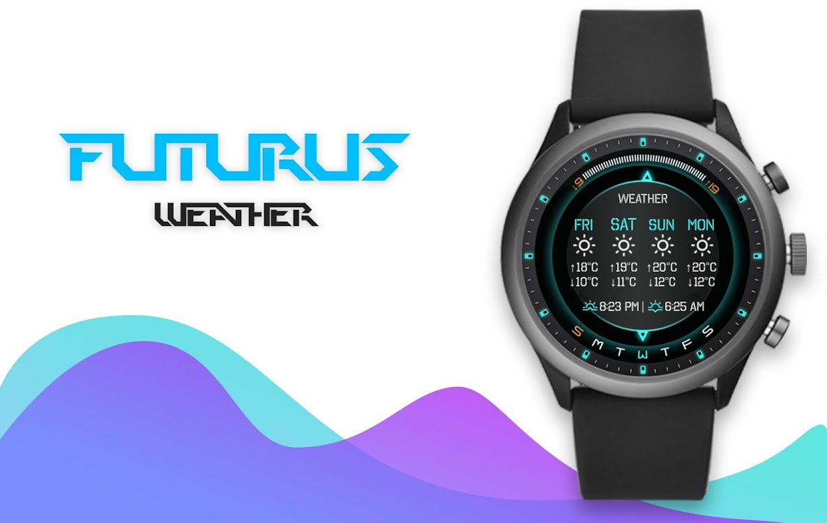 Futurus Watch Face Clock Live Wallpaper Android Apps