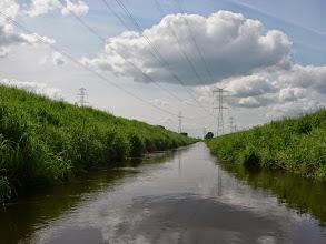 Photo: wzdłuż lini napięciowej