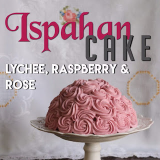 Raspberry, Lychee and Rose Cake (Ispahan) inspired by the film Burnt.