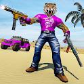 Teddy Bear Gun Shooting icon