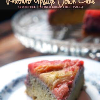 Rhubarb Upside Down Cake Dessert Recipes