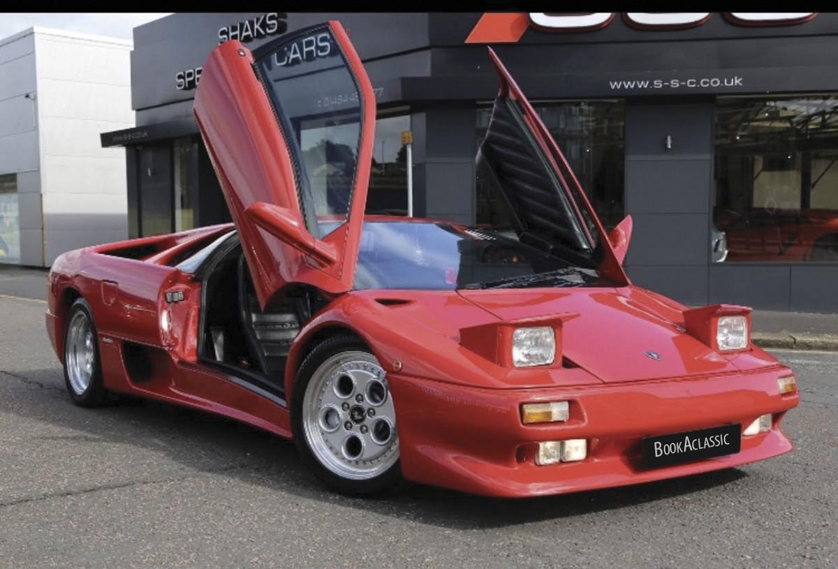 Lamborghini Diablo Hire Glasgow