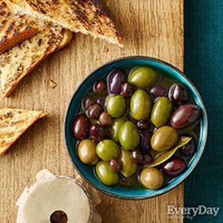 Martini-Marinated Olives