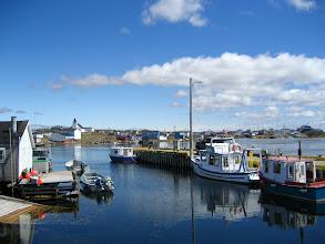 Photo: Köy ve limanı