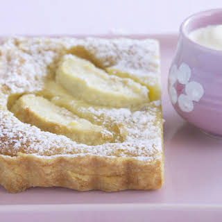 Apple Custard Tart.