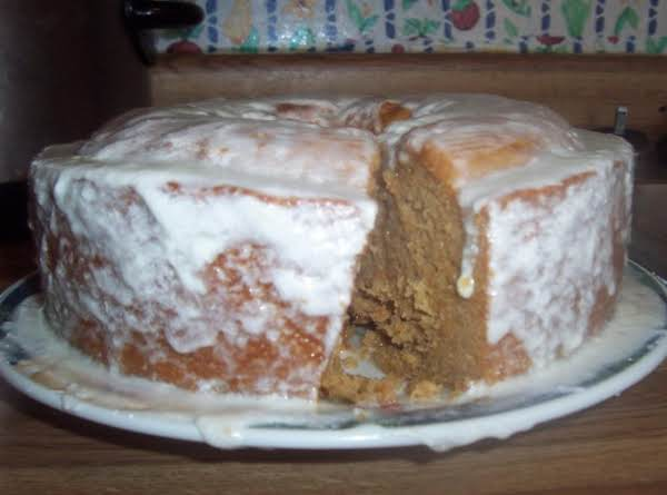 Sweet Potato Cake With Cream Cheese Icing Recipe