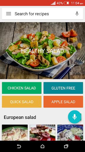免费的沙拉食谱