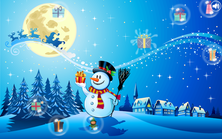 android Christmas Bubbles for Kids Screenshot 4