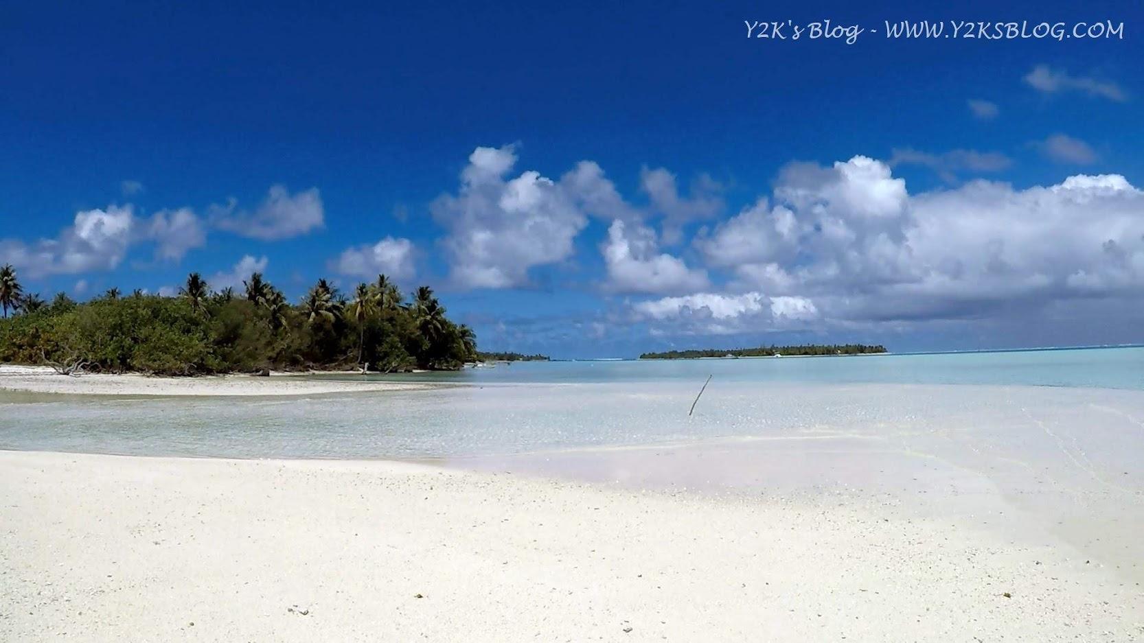 L'abbagliante candore della spiaggia di Motu Tiapaa - Maupiti