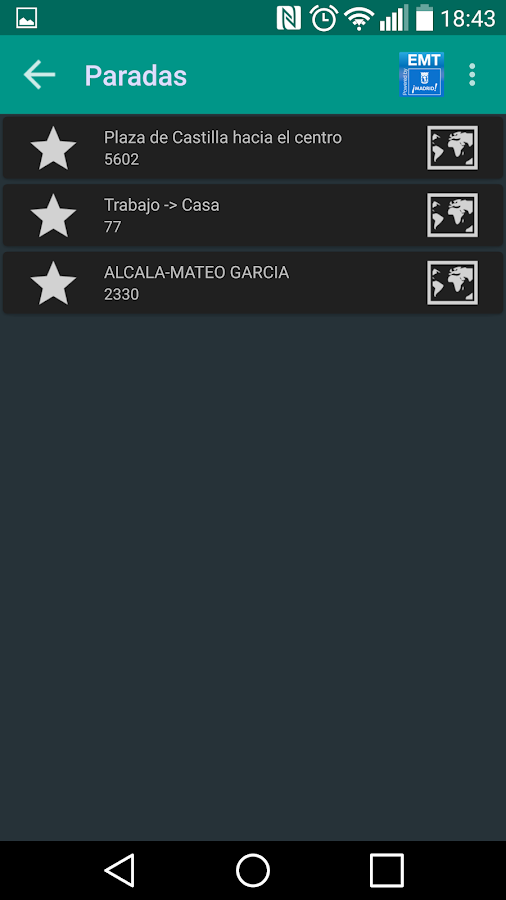 Bus Madrid - screenshot