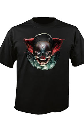 Digital Dudz t-shirt, skräck clown