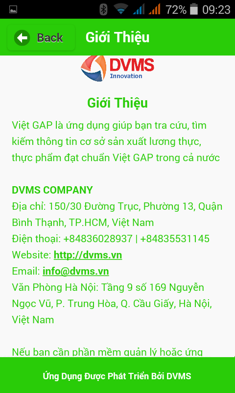 VietGAP- screenshot