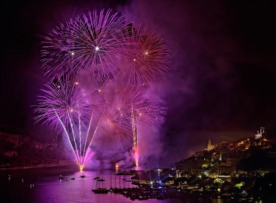 Fuochi d'artificio a Portovenere di Alessandro Milazzo