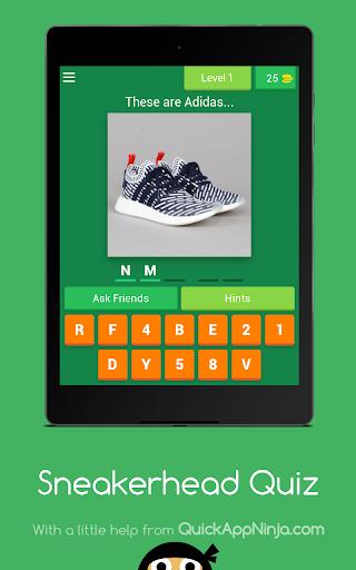 Sneakerhead Quiz android2mod screenshots 13