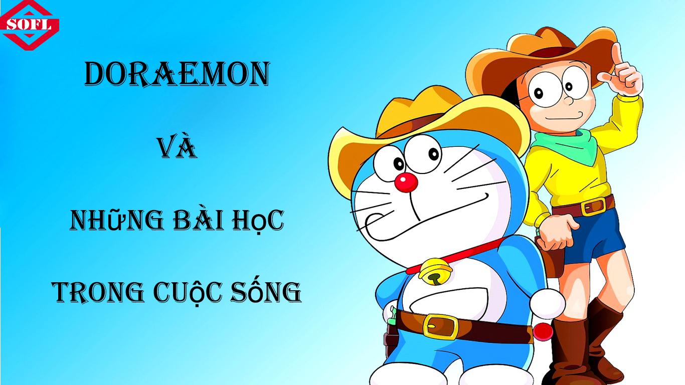 Doraemon và những bài học trong cuộc sống