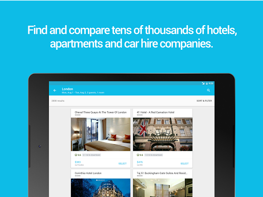 Skyscanner Flights, Hotel, Car for PC