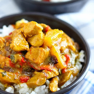 Instant Pot Chicken Curry.
