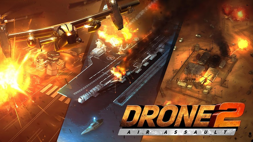 Drone 2 Air Assault v1.97 [Mod]