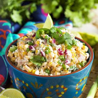 Mexican Street Corn Salad.