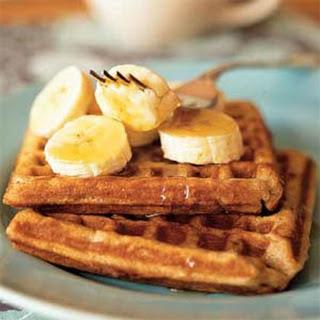 Banana-Cinnamon Waffles