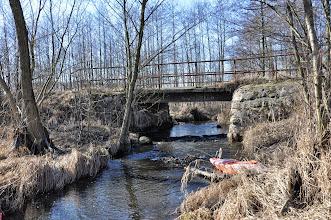 Photo: 88,0 km mostek na drodze Jankowice - Białynin