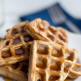 Cinnamon Brown Sugar Waffles.