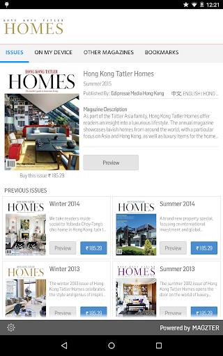 Hong Kong Tatler Homes