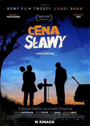 Przód ulotki filmu 'Cena Sławy'