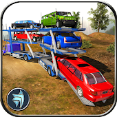 OffRoad Car Transporter Trailer Truck Game