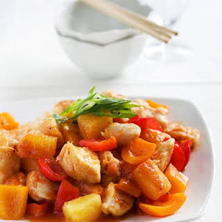 Sweet and Sour Chicken.