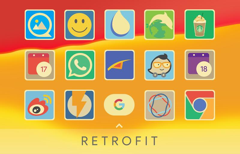Retrofit Icon Pack Screenshot 1