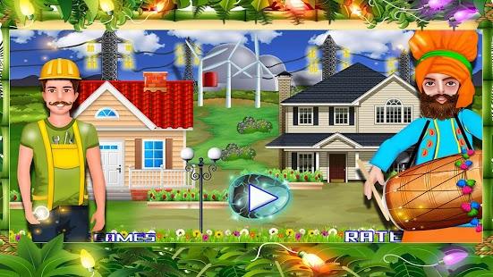 Wind Power House Electricity - náhled