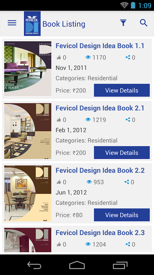 Fevicol Design Ideas- screenshot