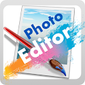 Simple  photos editor icon